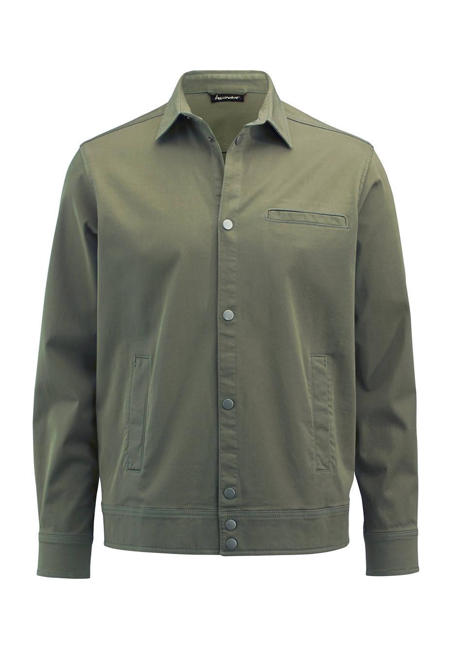 Herren Hemdjacke aus Bio-Baumwolle