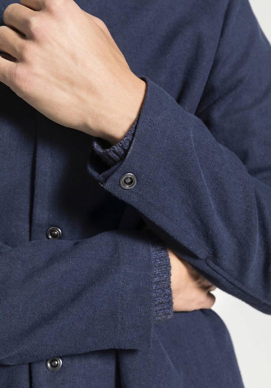 Herren Jacke aus Hanf mit Bio-Baumwolle