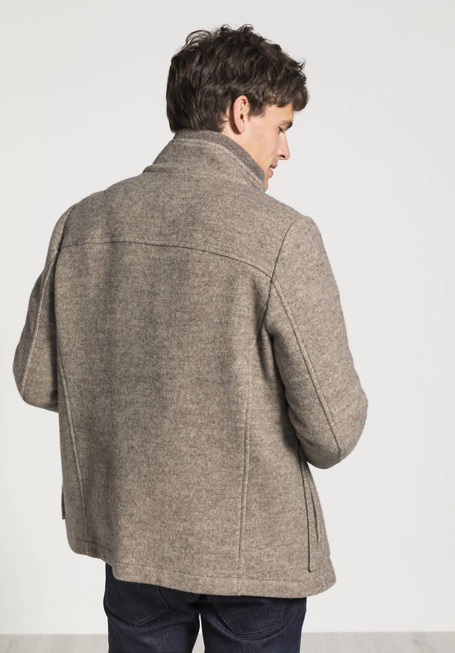 Herren Jacke aus Rhönwolle