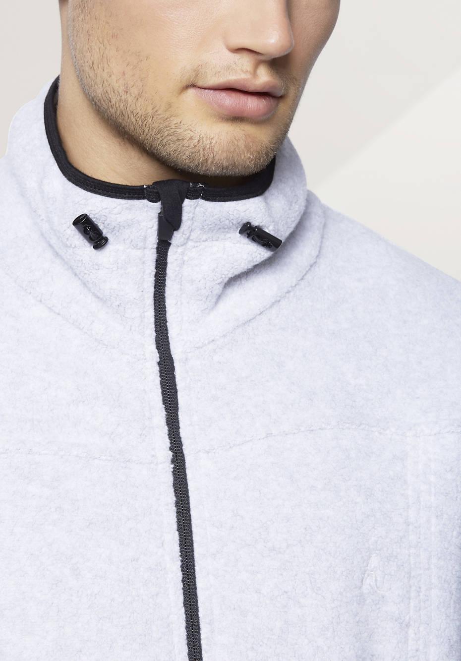 Herren Jacke aus reinem Bio-Baumwoll-Fleece