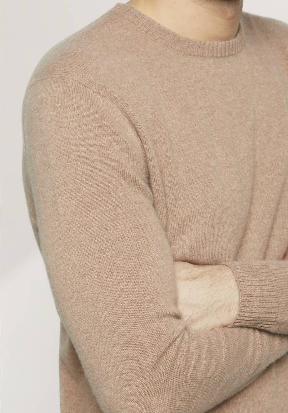 herren pullover aus schurwolle mit kaschmir hessnatur deutschland. Black Bedroom Furniture Sets. Home Design Ideas