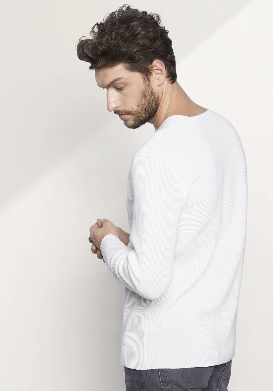 Herren Pullover aus reiner Bio-Baumwolle