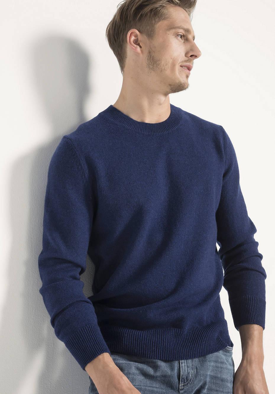 Herren Pullover aus reiner Schurwolle