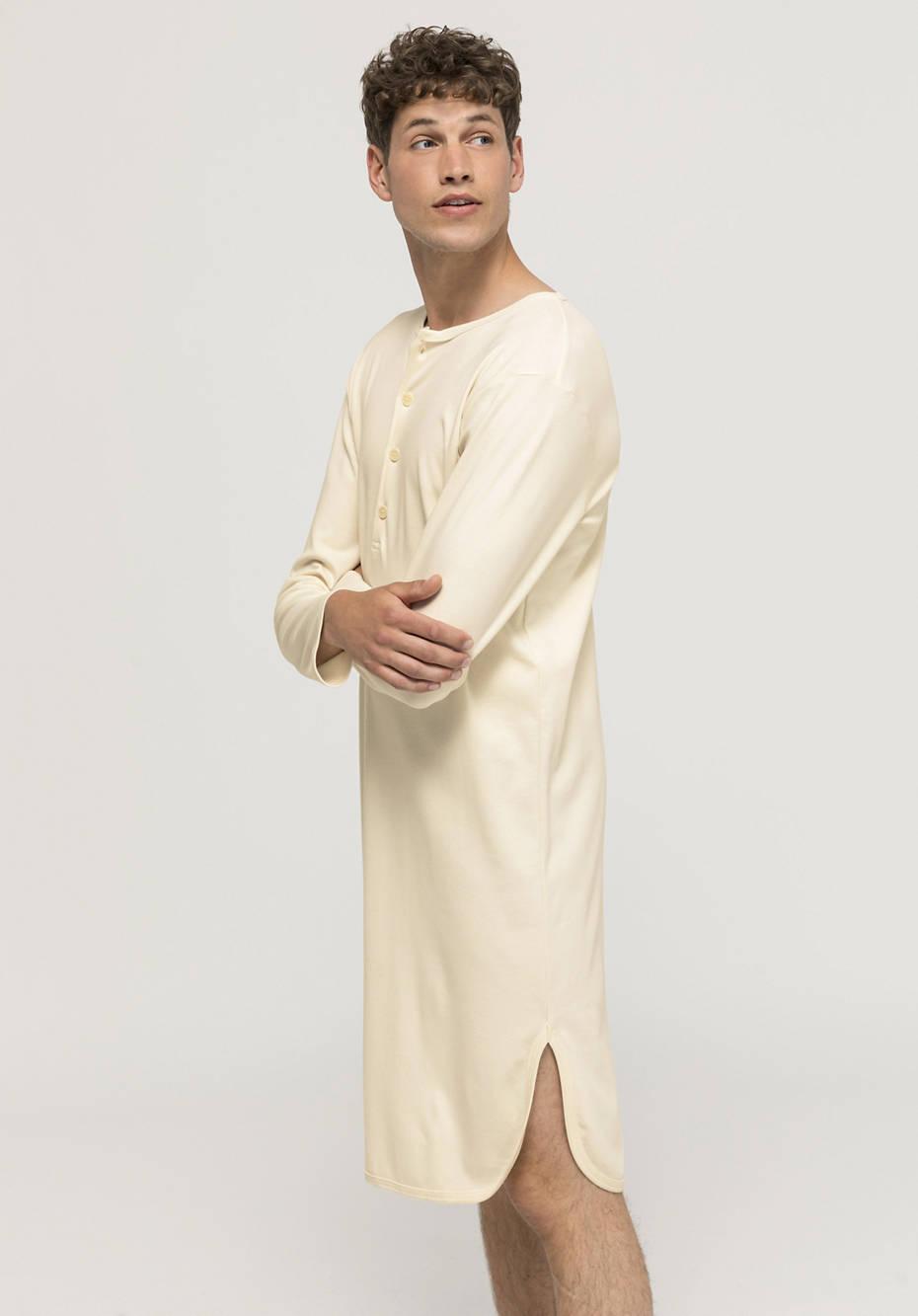 Herren Schlafshirt PureNATURE aus reiner Bio-Baumwolle