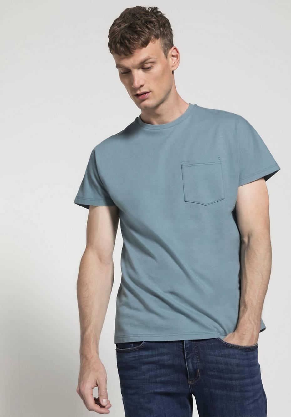 Herren Shirt Modern Fit aus Bio-Baumwolle mit Bio-Merinowolle