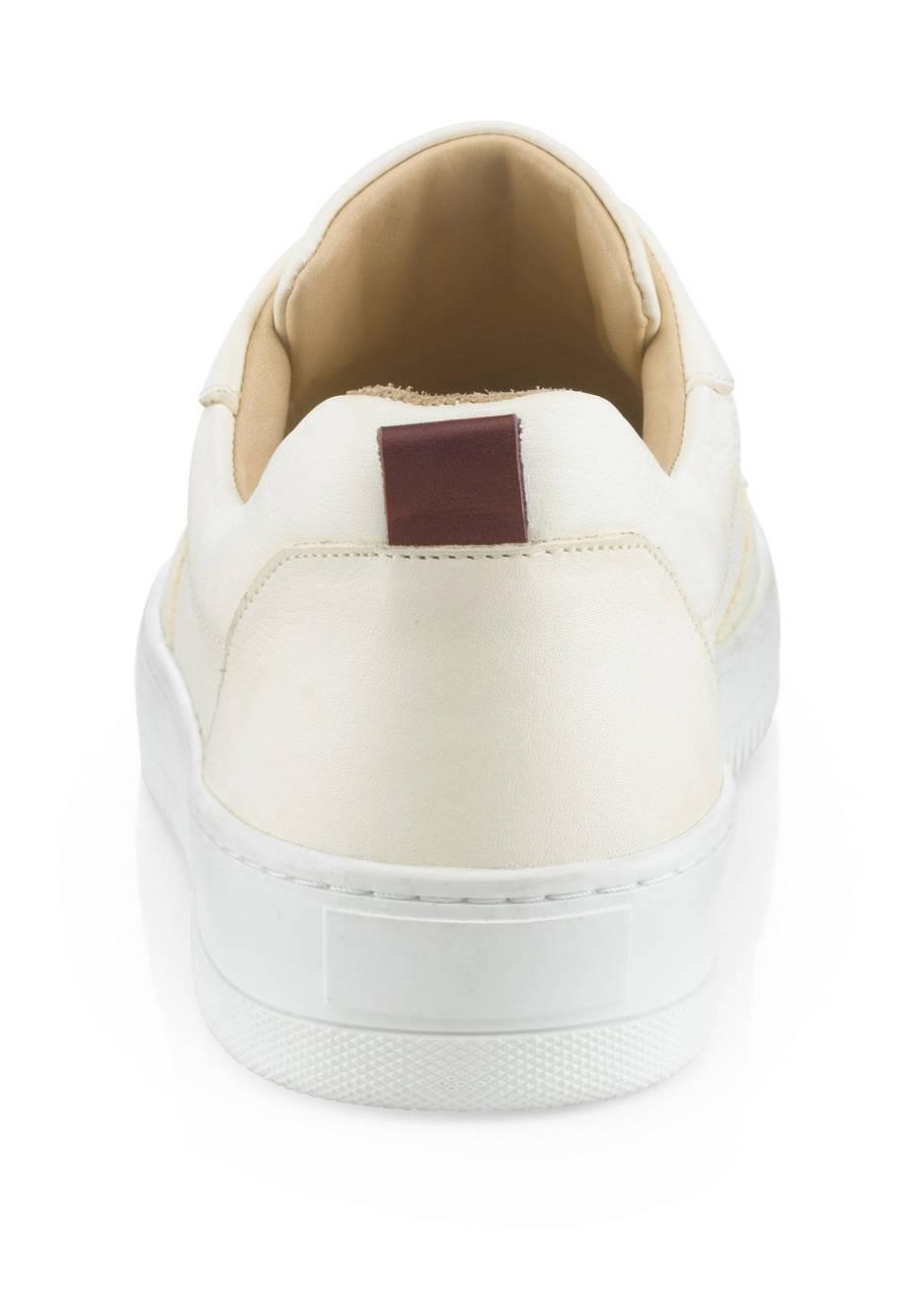Herren Sneaker aus chromfrei gegerbtem Leder