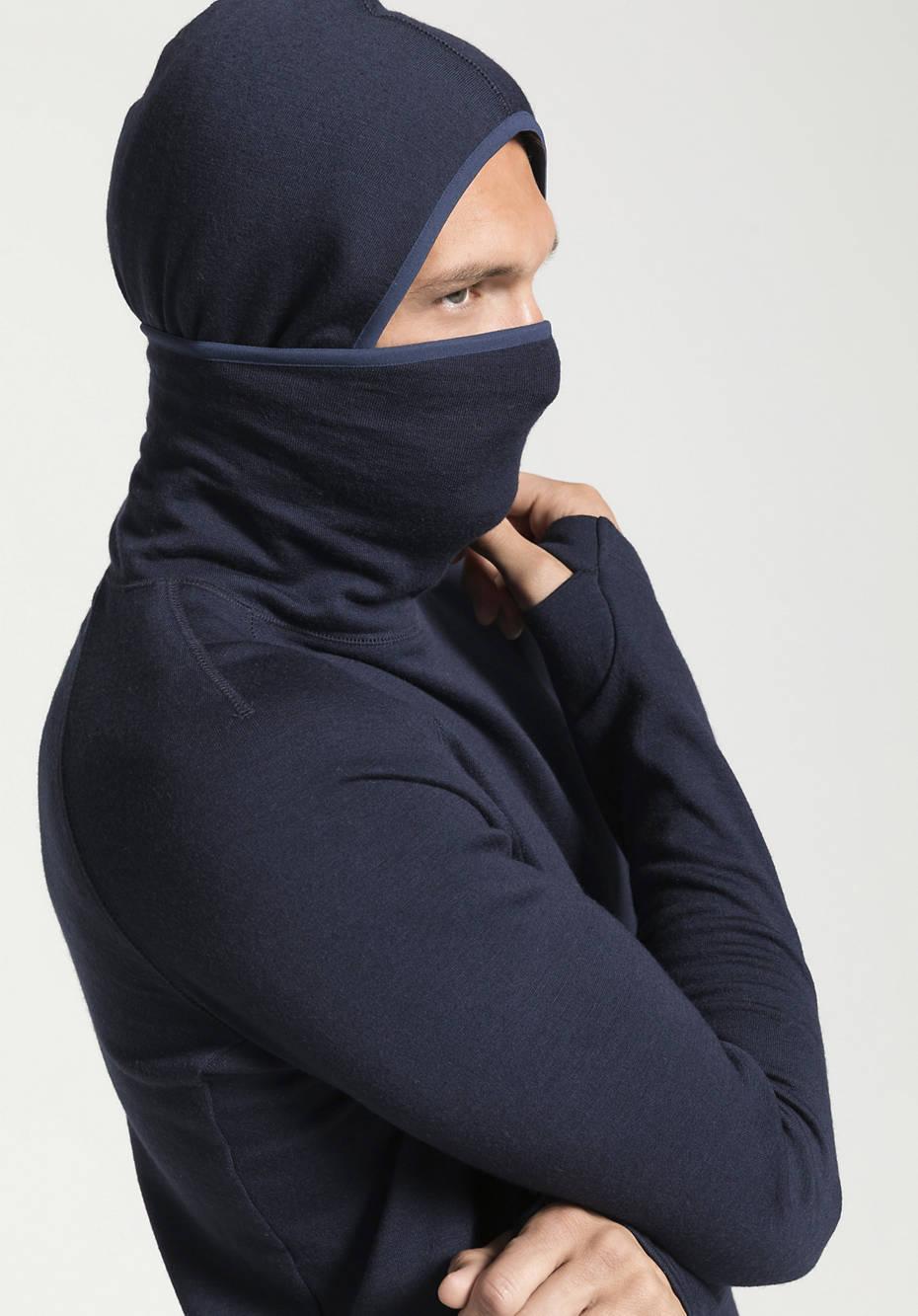 Herren Sweat-Hoodie aus reiner Bio-Merinowolle