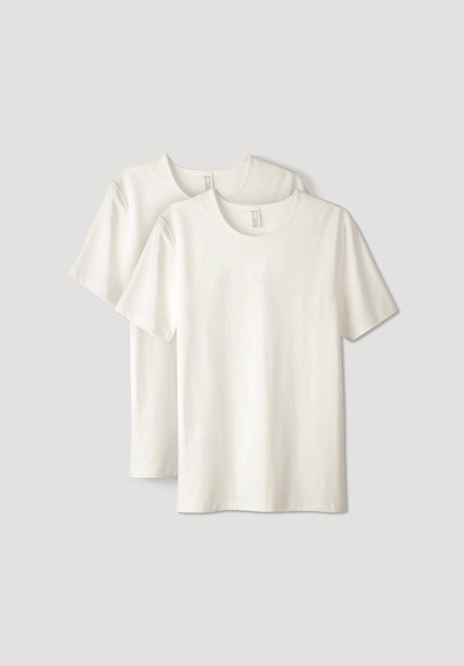 Herren T-Shirt PureLUX im 2er Set aus Bio-Baumwolle