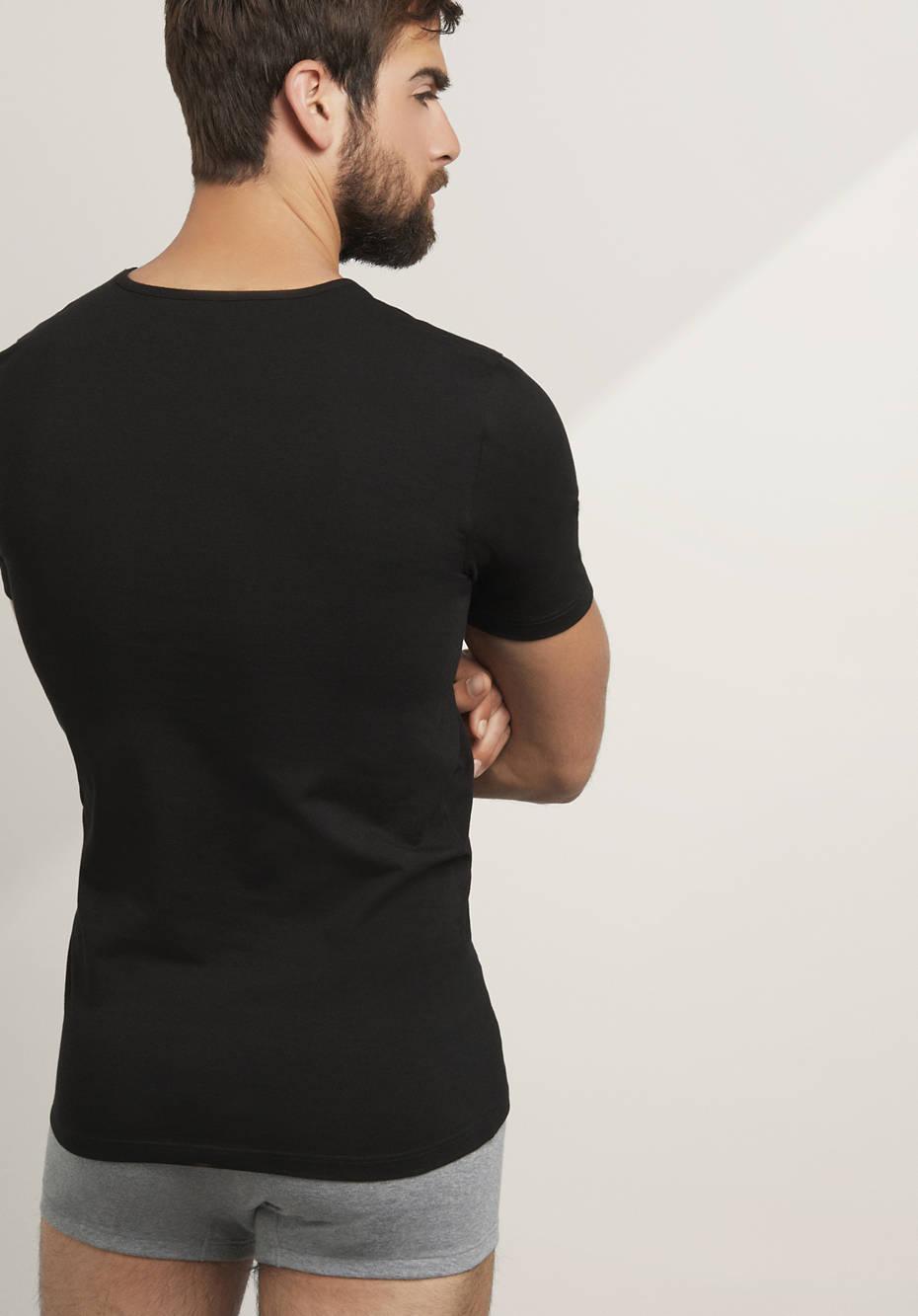 herren t shirt purelux im 2er set aus bio baumwolle. Black Bedroom Furniture Sets. Home Design Ideas