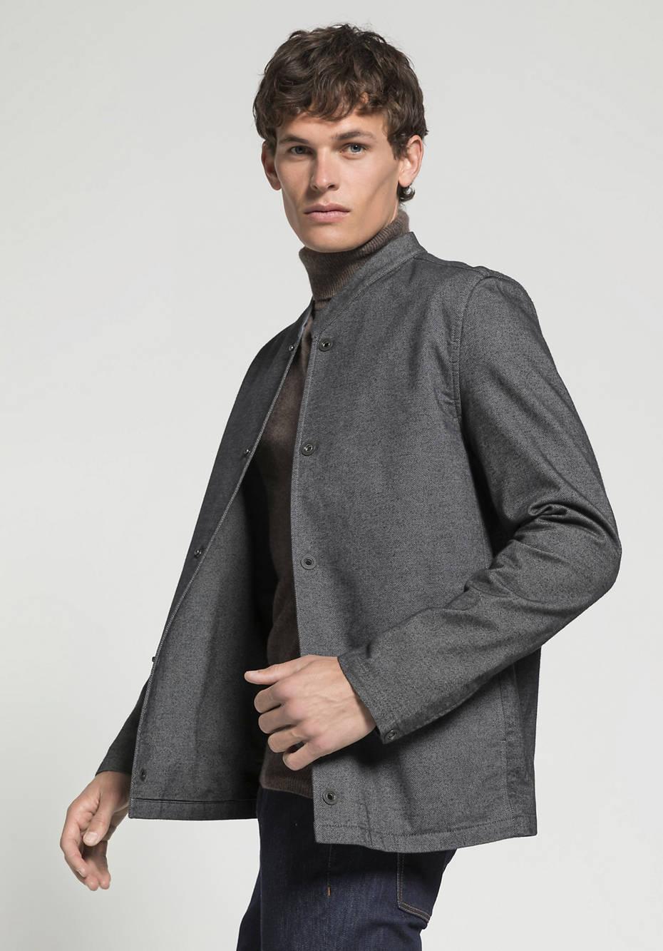 Herren Workwear-Jacke aus Bio-Baumwolle