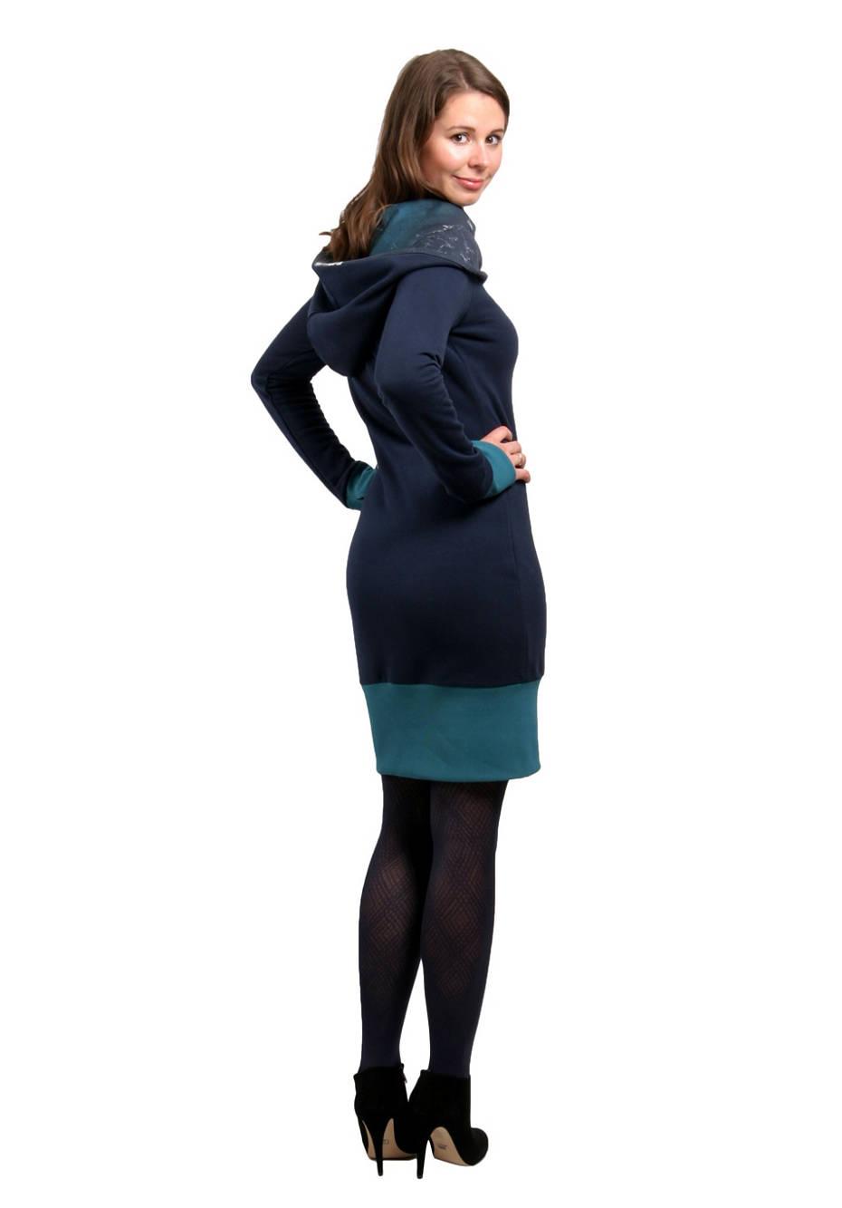 Hoodie Kleid Waldelf