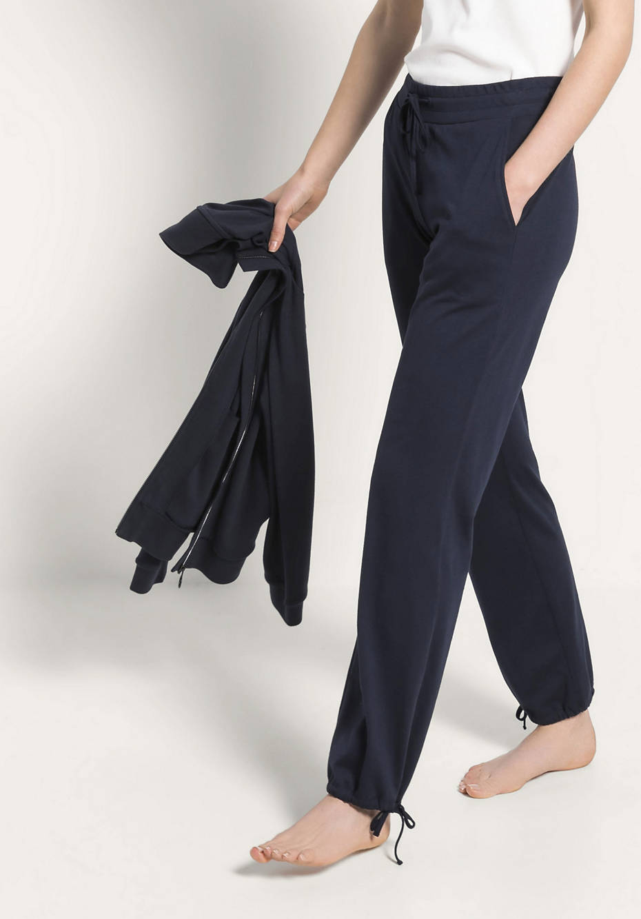 Hose aus Bio-Baumwolle und TENCEL™Modal