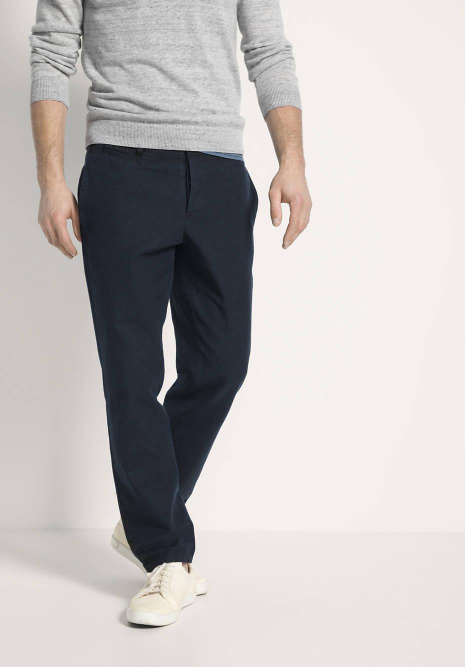 Hose aus Hanf mit Bio-Baumwolle