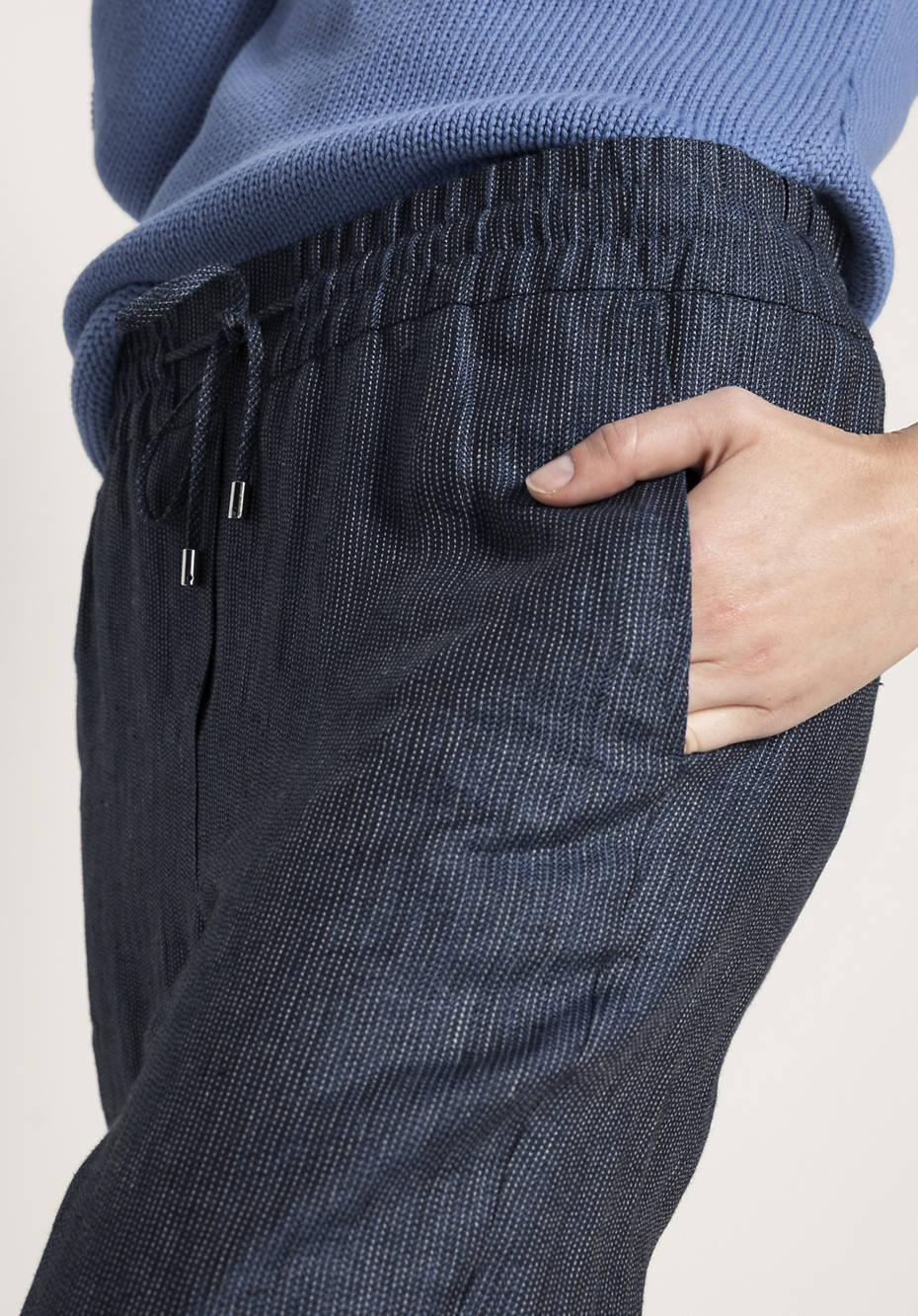 Hose aus reinem Hessen-Leinen