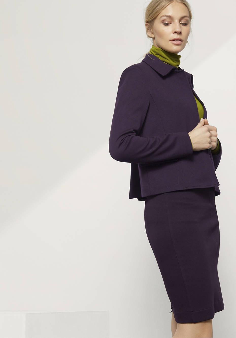 Jacke aus Bio-Baumwolle mit Modal