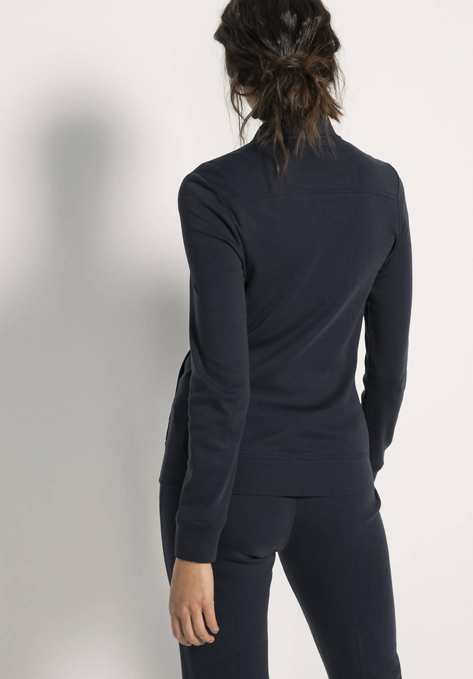 Jacke aus Bio-Baumwolle und Modal