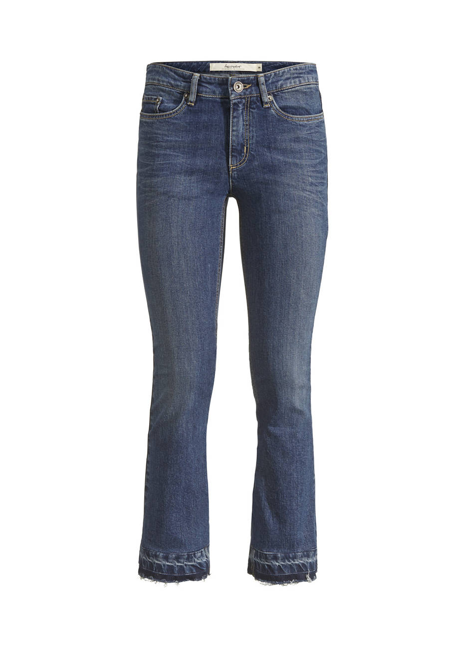 Jeans Baby Flared aus Bio-Denim