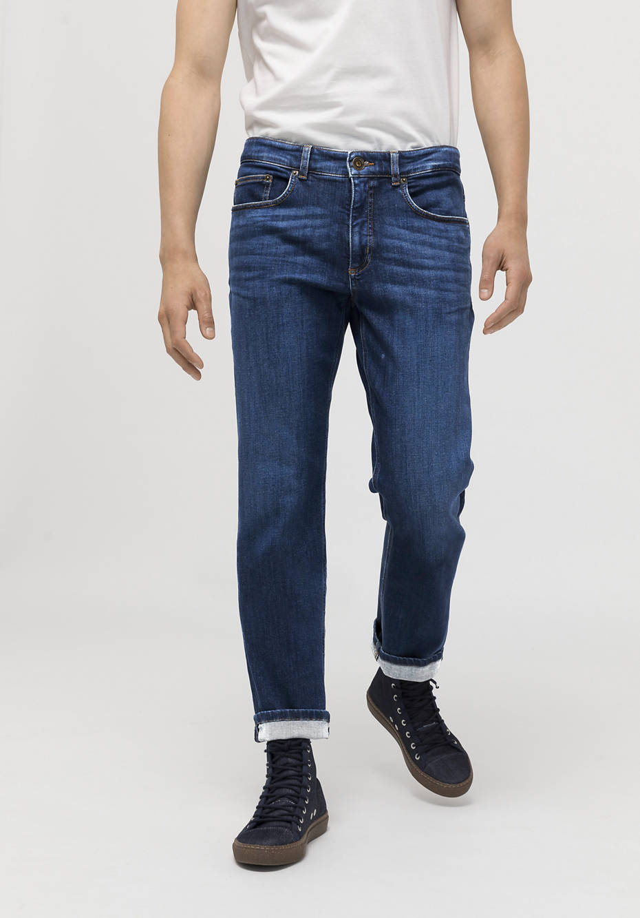 Jeans Ben Straight Fit aus Bio-Denim