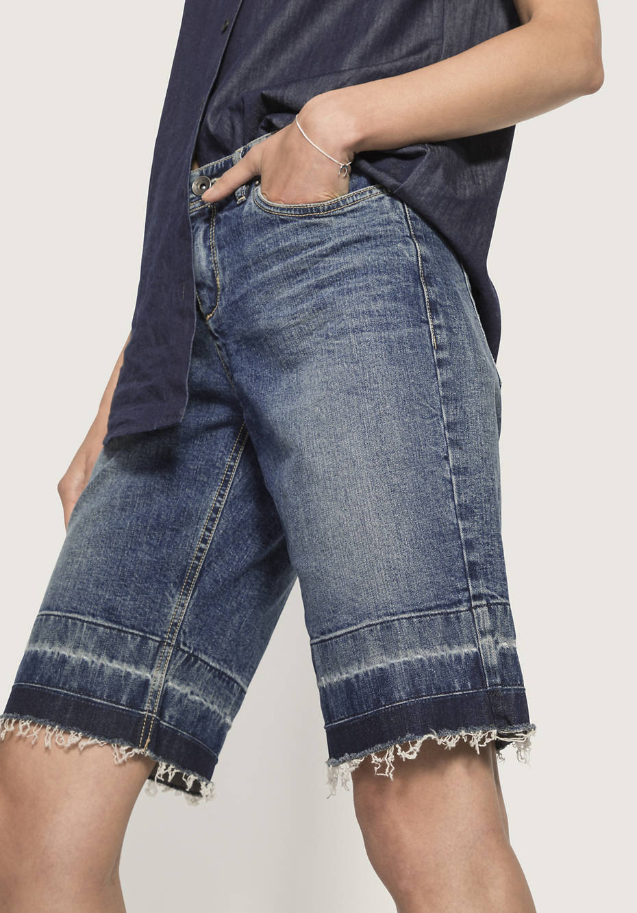 Jeans Bermuda aus Bio-Denim from Hessnatur