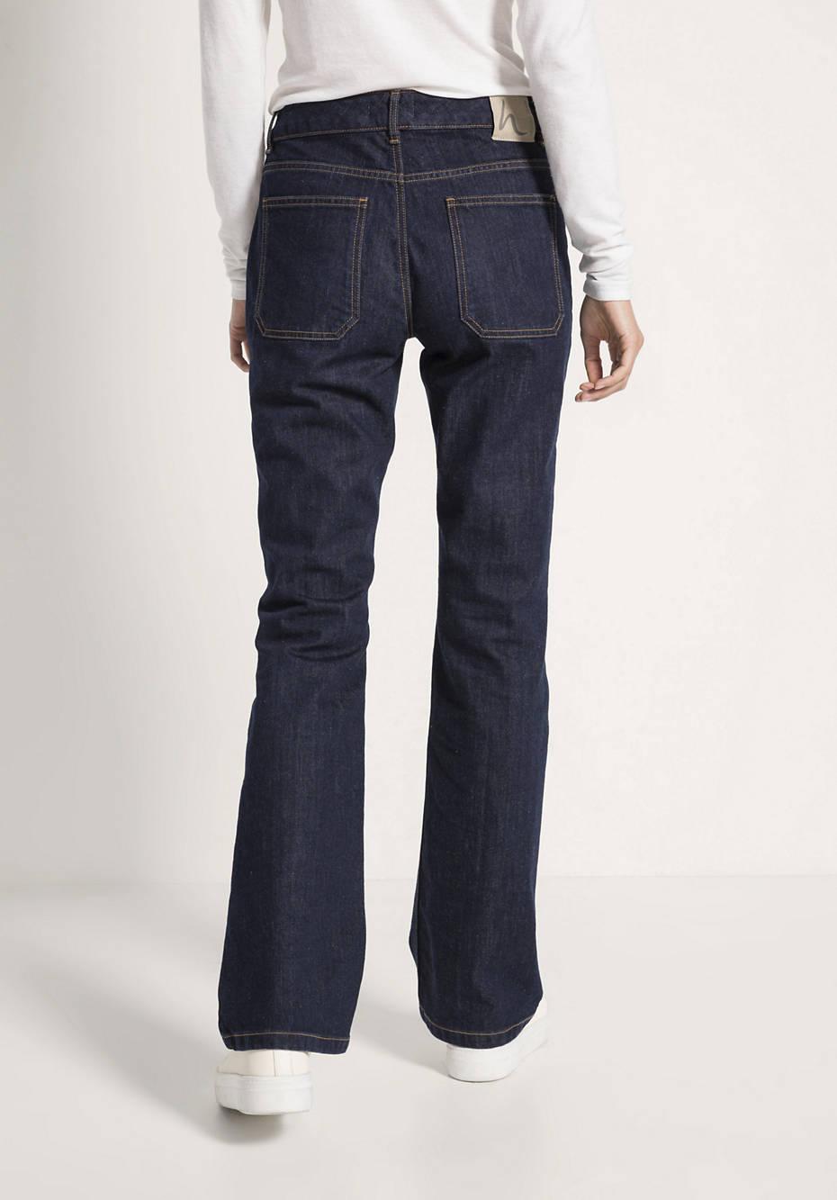 Jeans Bootcut aus Bio-Denim