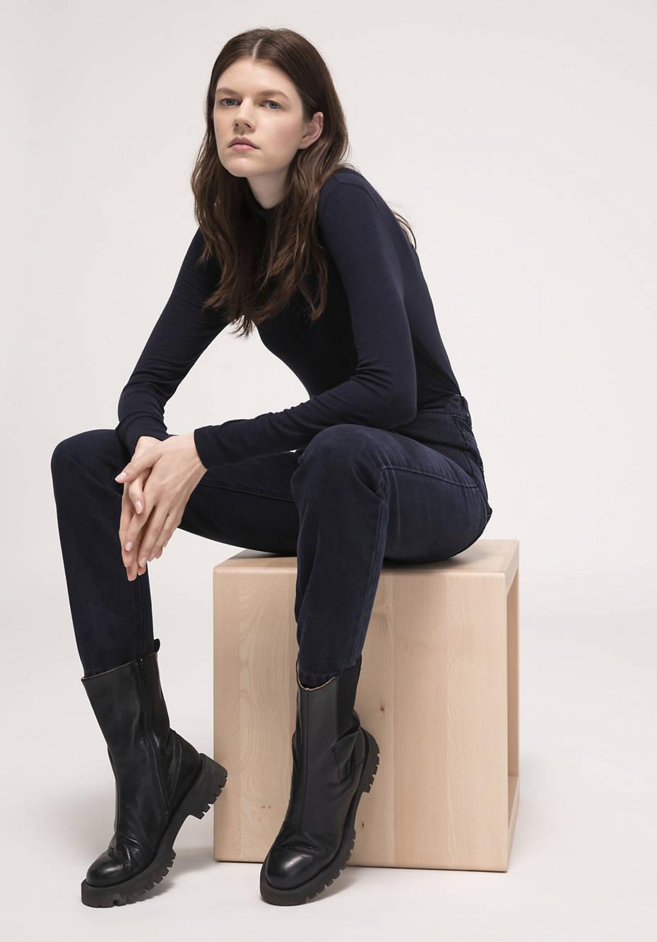 Jeans Hanna Mom Fit aus reinem Bio-Denim