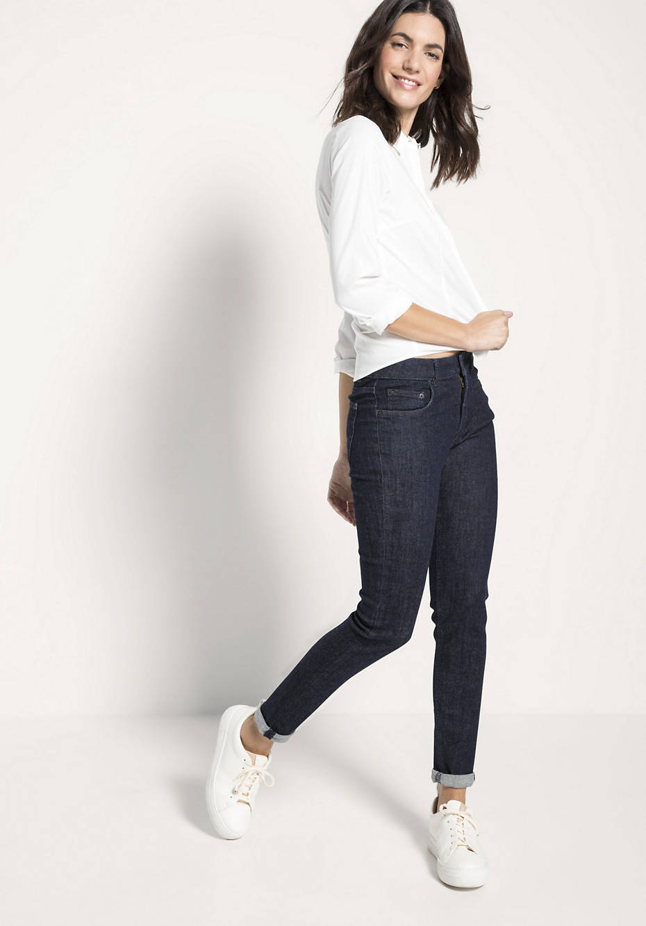 Jeans Lina Skinny Fit aus Bio-Denim