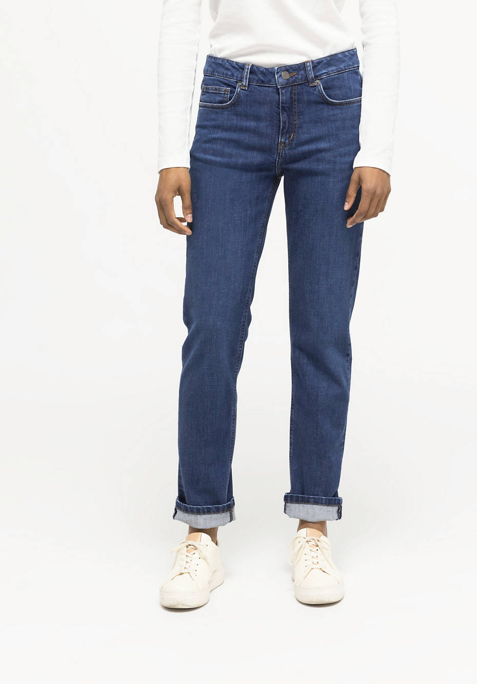 Jeans Marie Straight Fit aus Bio-Denim