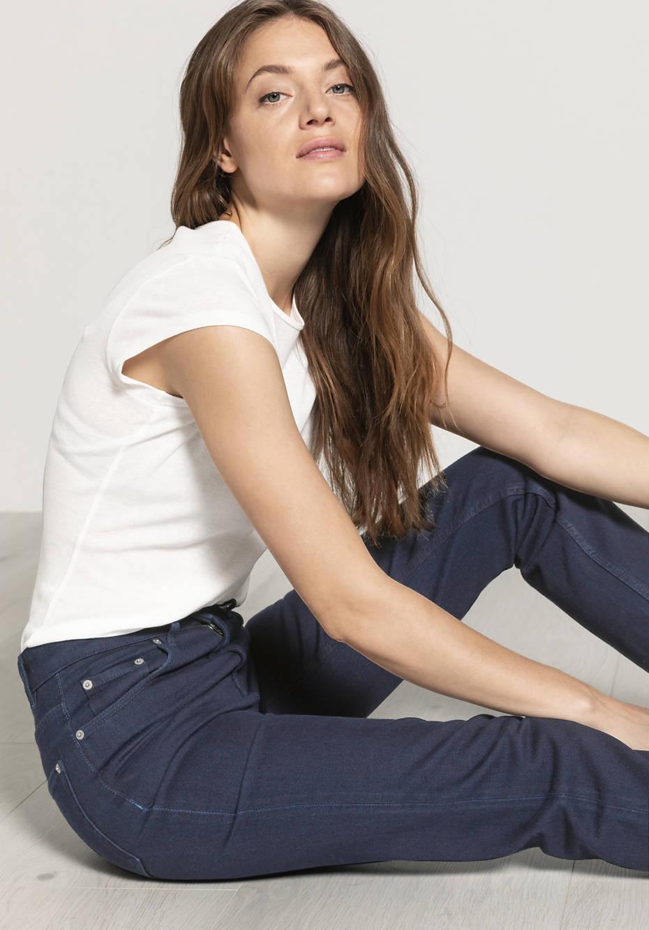 Jeans Mom Fit aus reinem Bio-Denim
