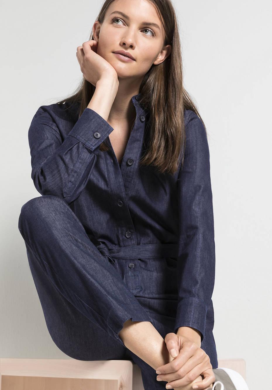 Jeans-Overall aus reinem Bio-Denim