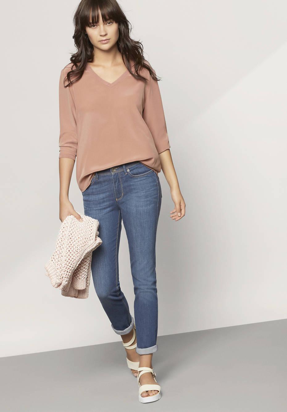 Jeans Slim Fit aus Bio-Denim
