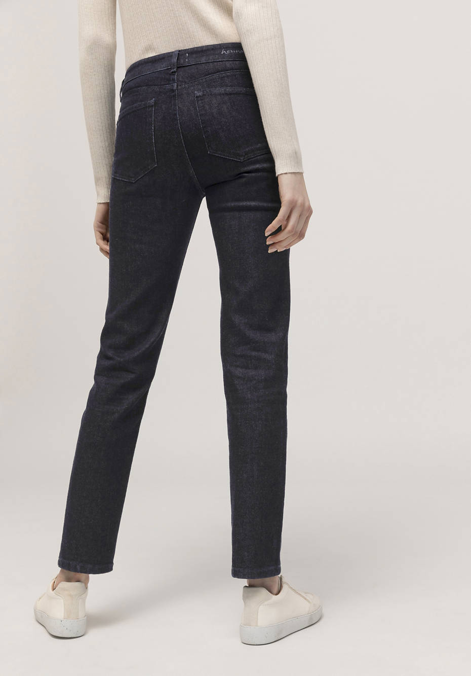 Jeans Slim Fit aus Bio-Wolldenim
