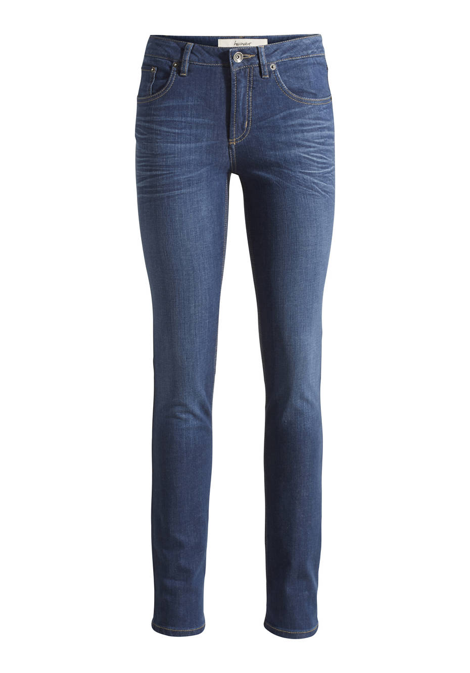 Jeans Straight Fit aus Bio-Denim