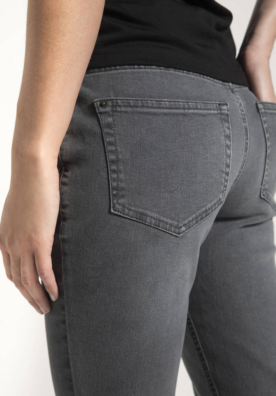 Jeans Straight Fit aus reinem Bio-Denim