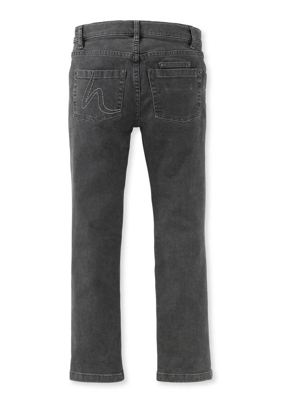 Jeans aus Bio-Baumwolle mit Elasthan