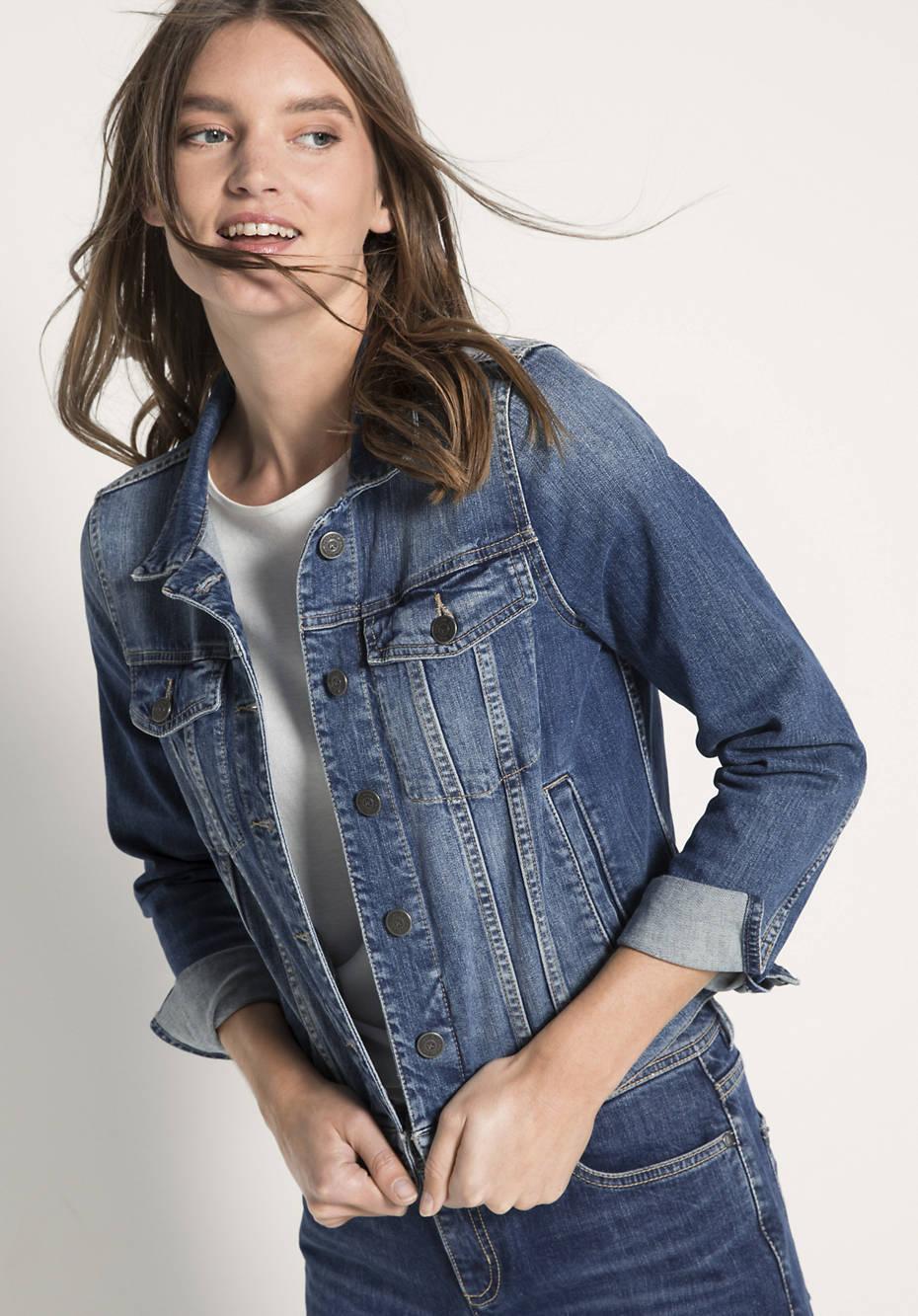 Jeansjacke aus Bio-Denim