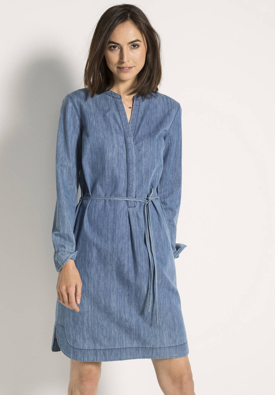 Jeanskleid aus reiner Bio-Baumwolle