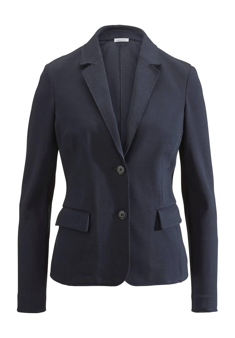 Jersey-Blazer aus Bio-Baumwolle
