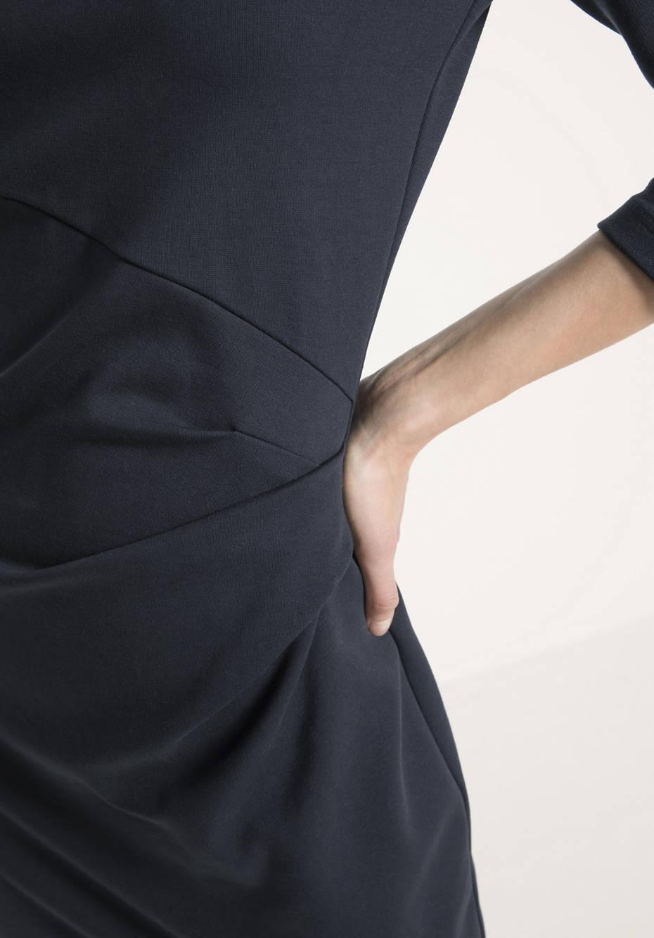 Jersey-Kleid aus Bio-Baumwolle mit Modal