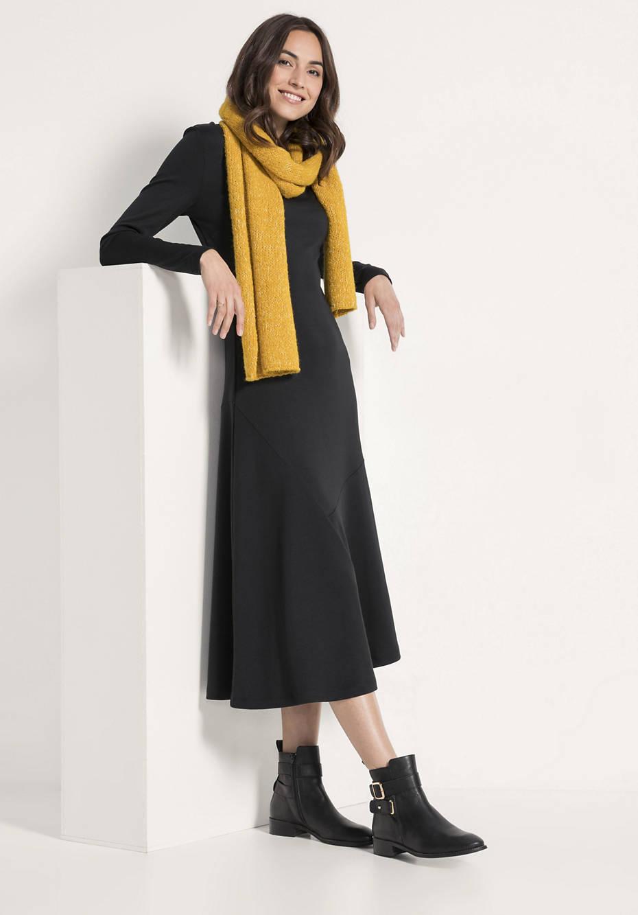 Jersey-Kleid aus Bio-Baumwolle und Modal
