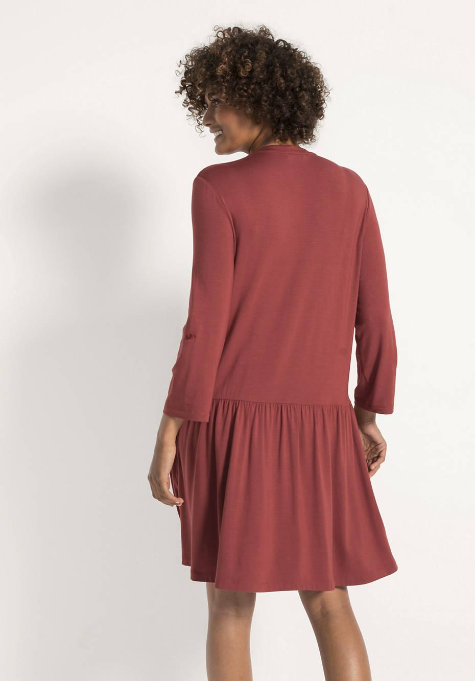 Jersey-Kleid aus Modal