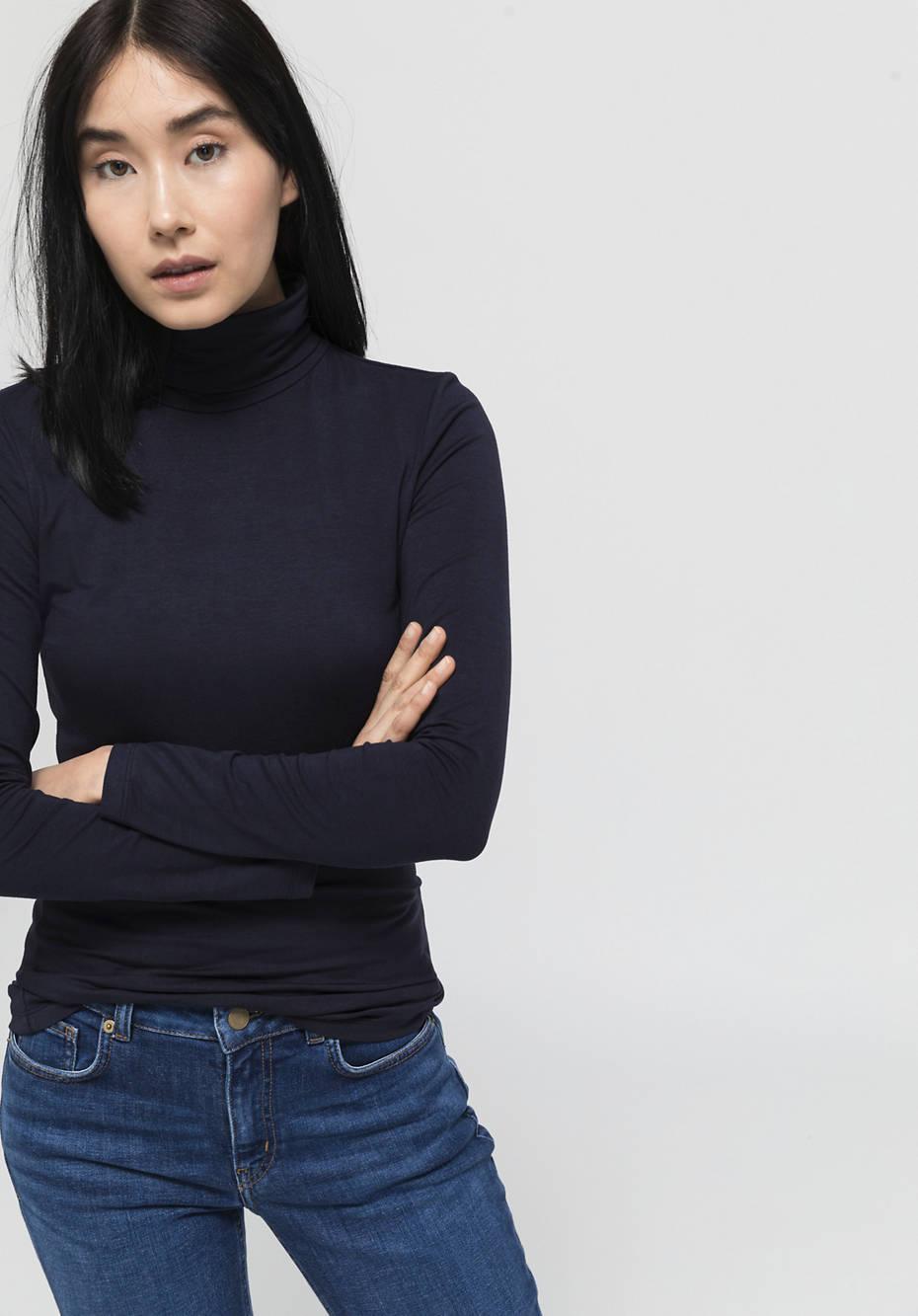 Jersey-Shirt aus mit TENCEL™Modal