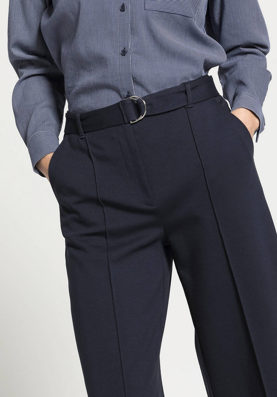 Jersey culottes made of organic cotton with TENCEL ™ Modal