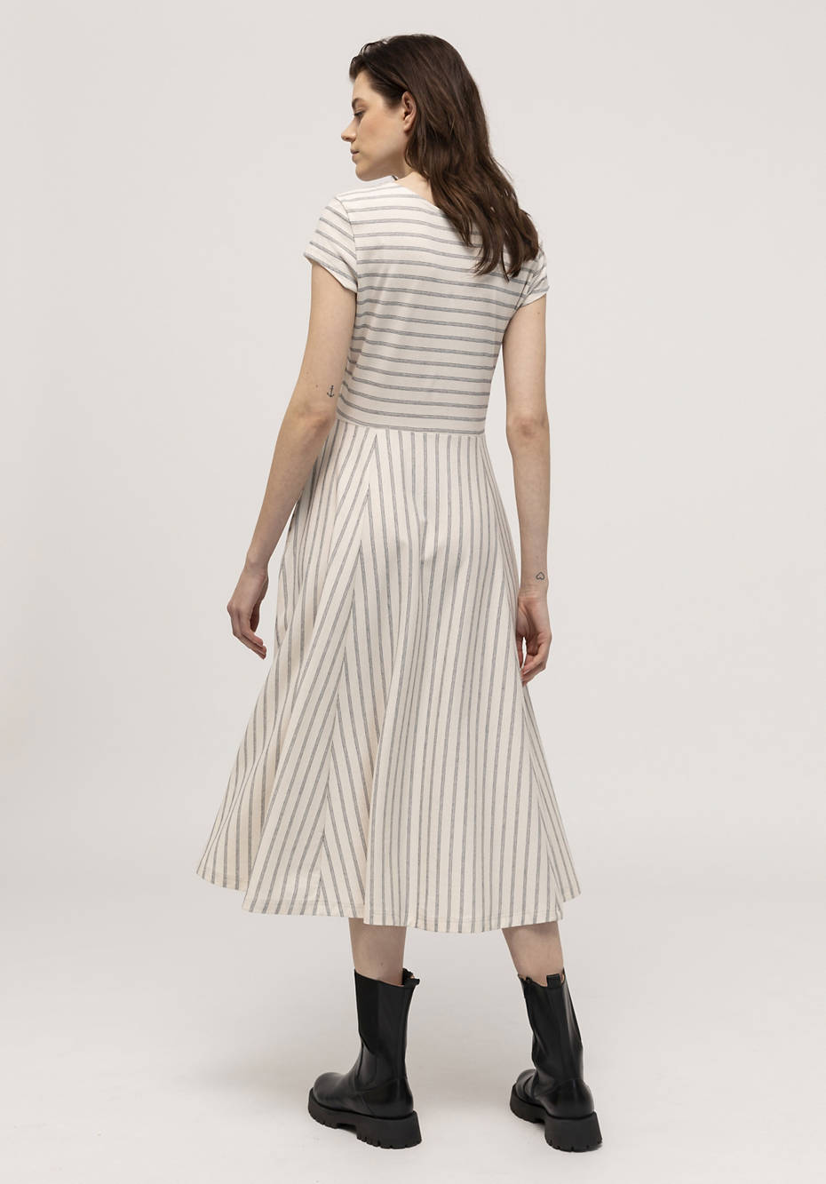 Jersey dress made from pure organic cotton