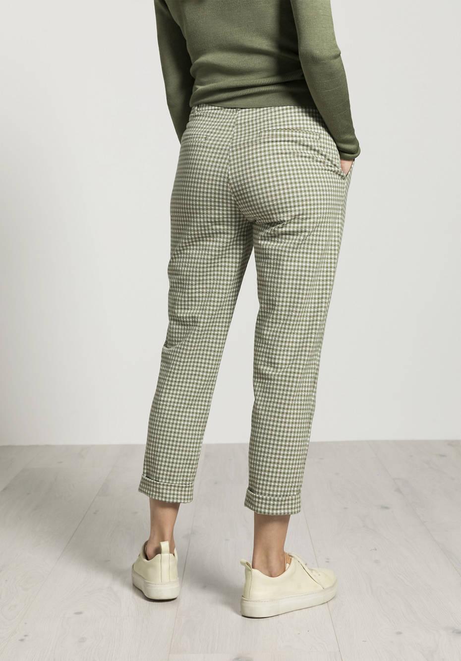 Jersey pants made of organic cotton