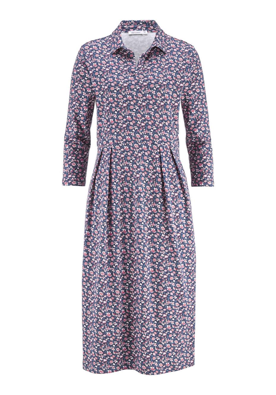 Jerseykleid aus Bio-Baumwolle und Modal