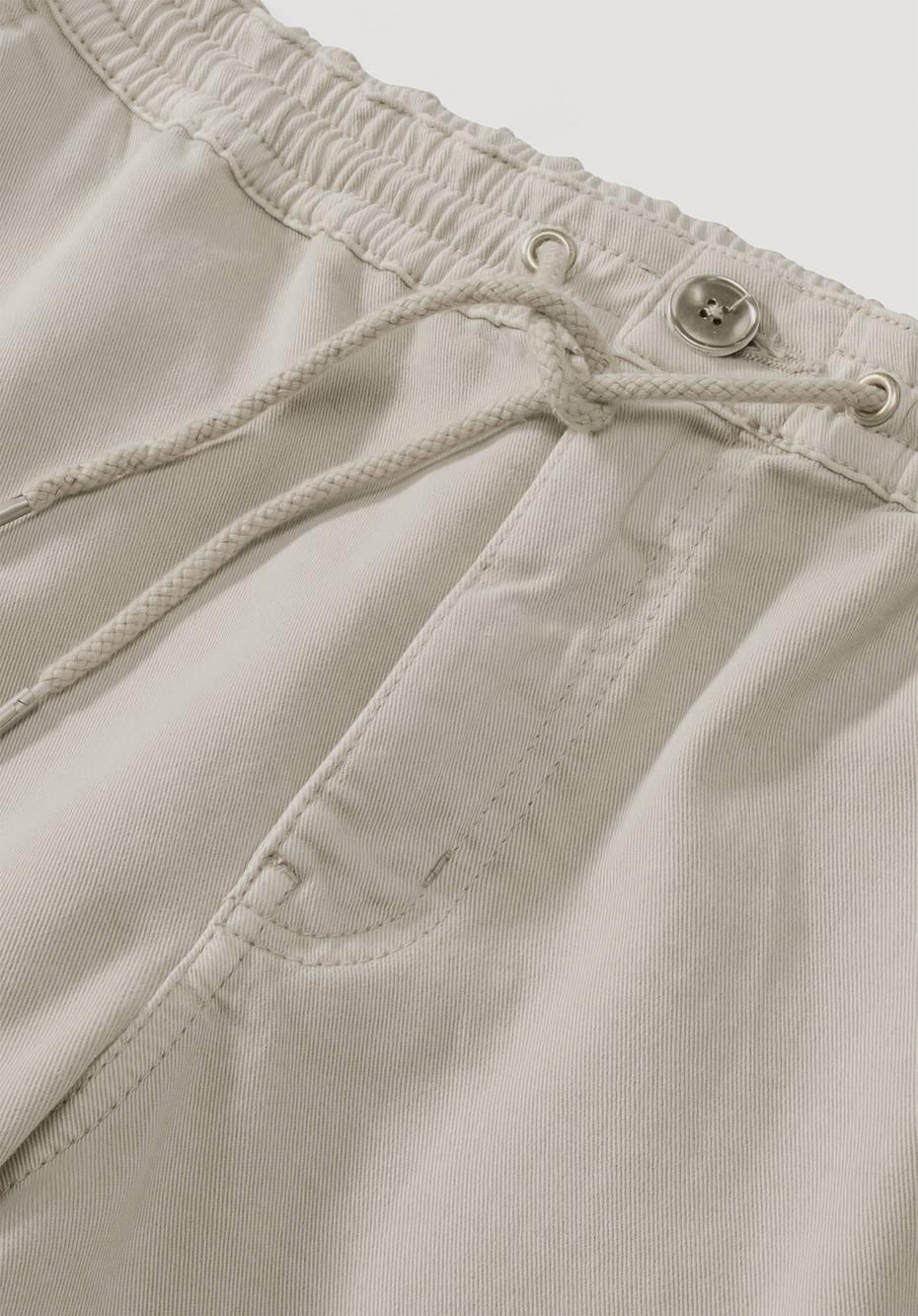 Joggpants mineralgefärbt aus Bio-Baumwolle
