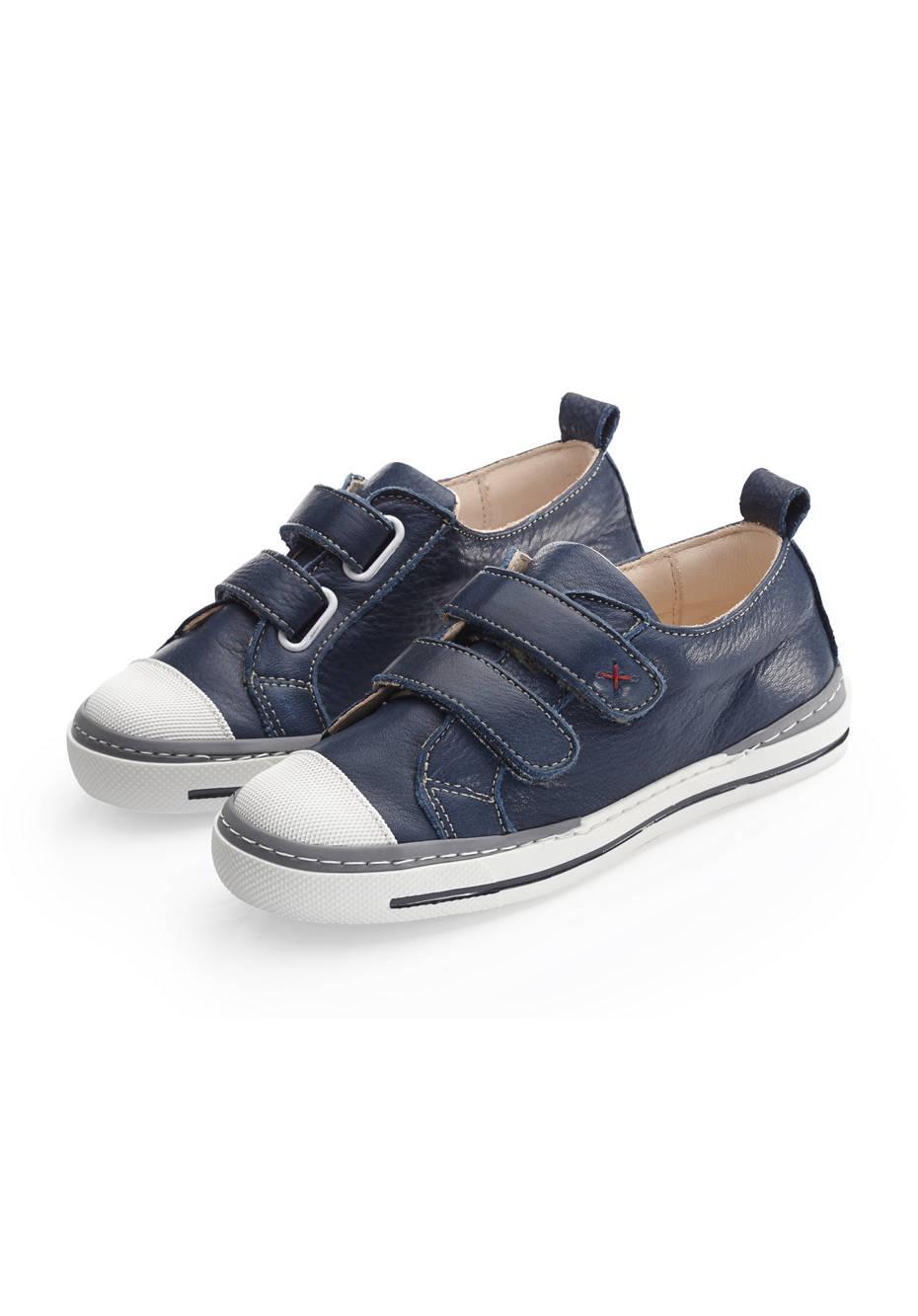 Jungen und Mädchen Leder-Sneaker