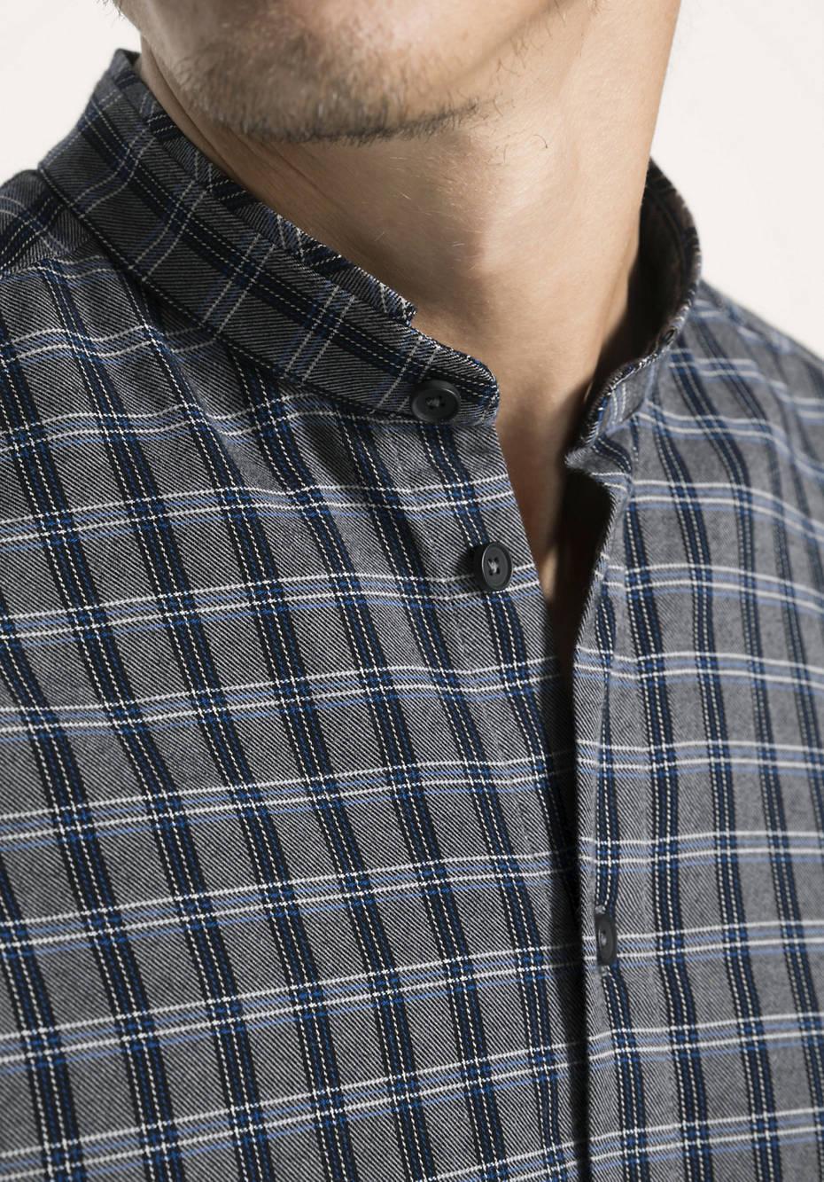 Karohemd Comfort Fit aus reiner Bio-Baumwolle