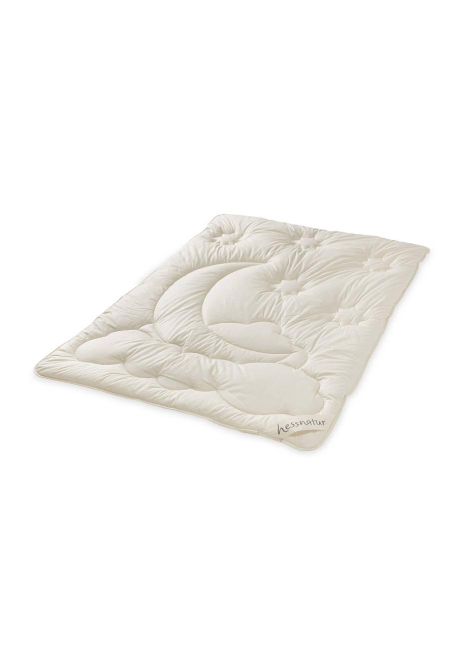 Kinder-Bettdecke mit reiner Bio-Schurwolle