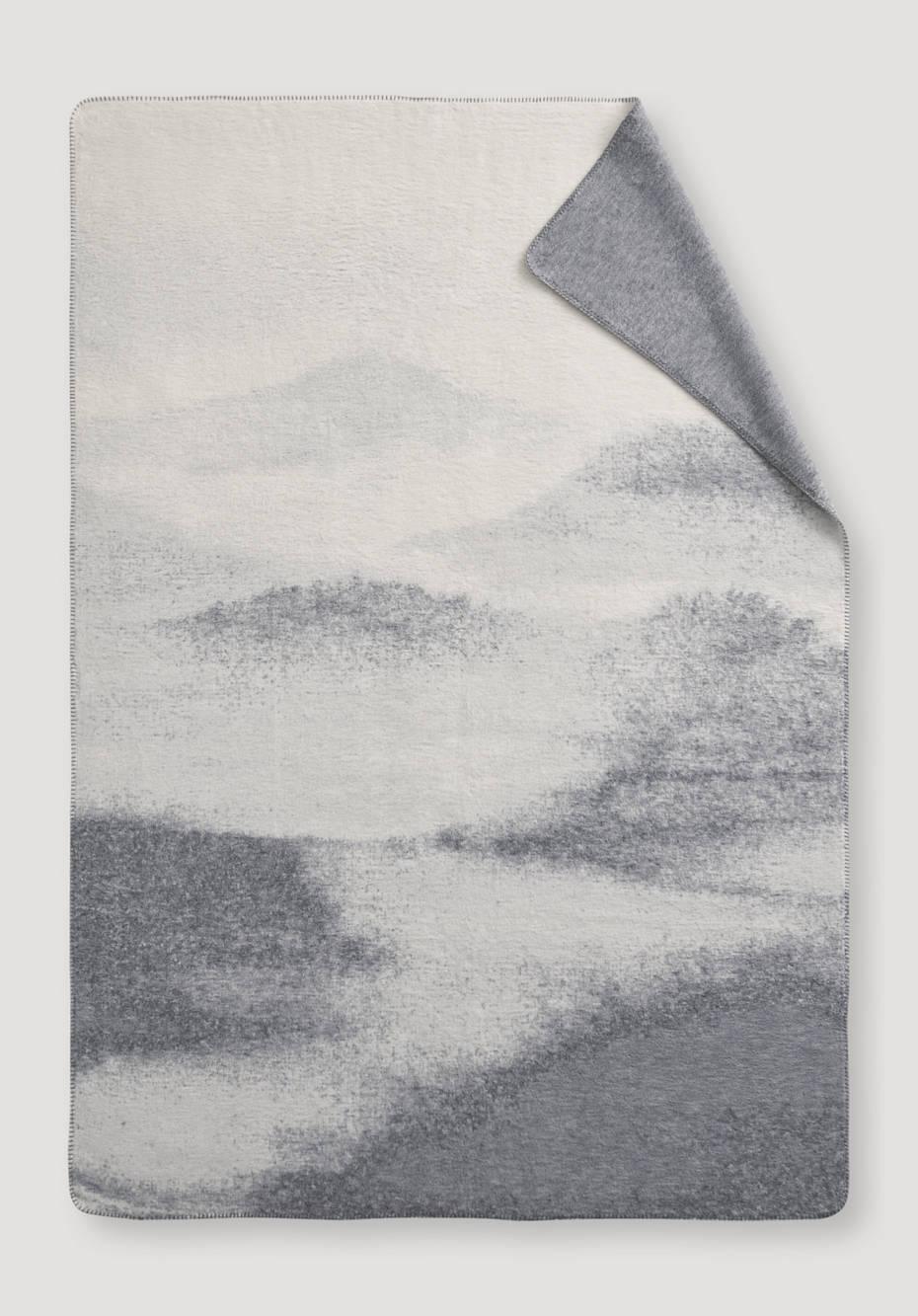 Kiri velor plaid made from pure organic cotton
